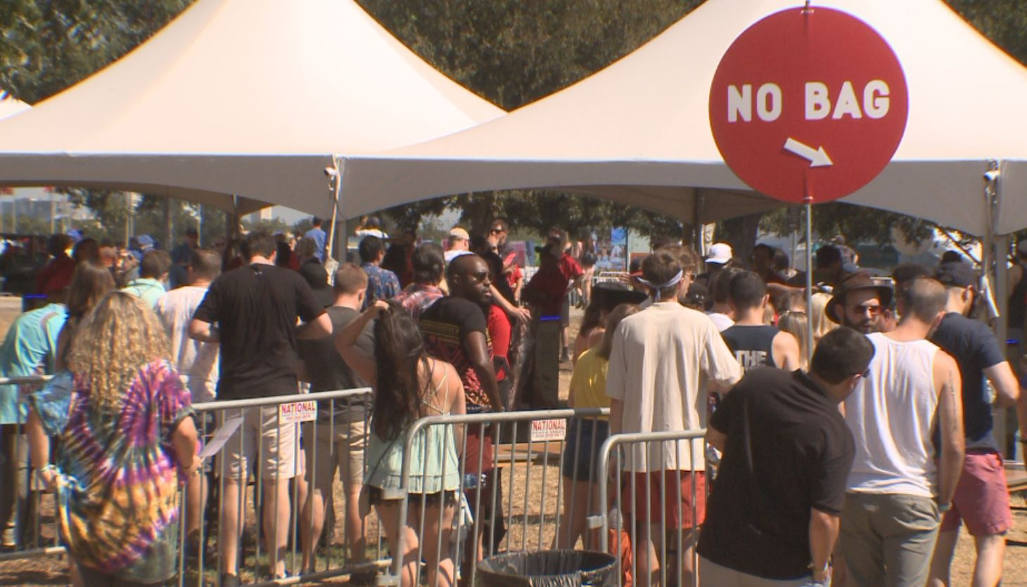 Lines to get into ACL 2017 Weekend 2_562089