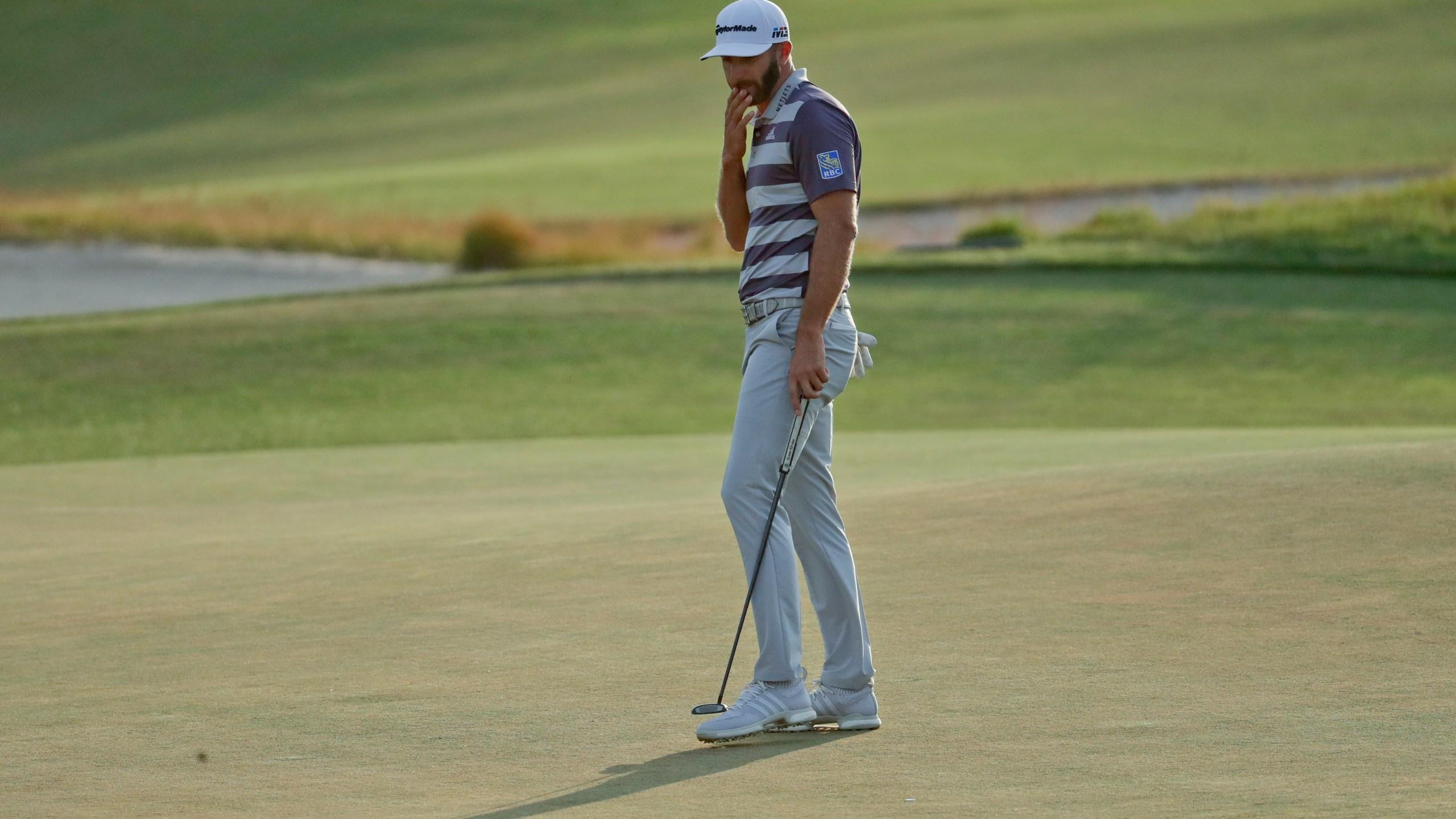Dustin Johnson at US Open