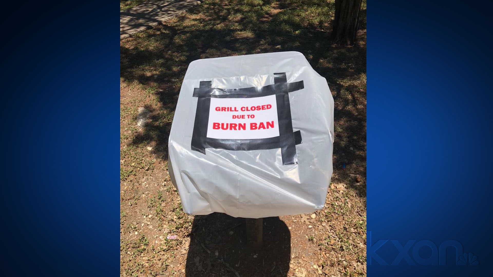 Grills closed in city of Cedar Park-operated parks due to dry conditions