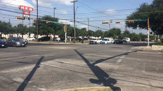 Intersection of South Congress Avenue at Oltorf Street