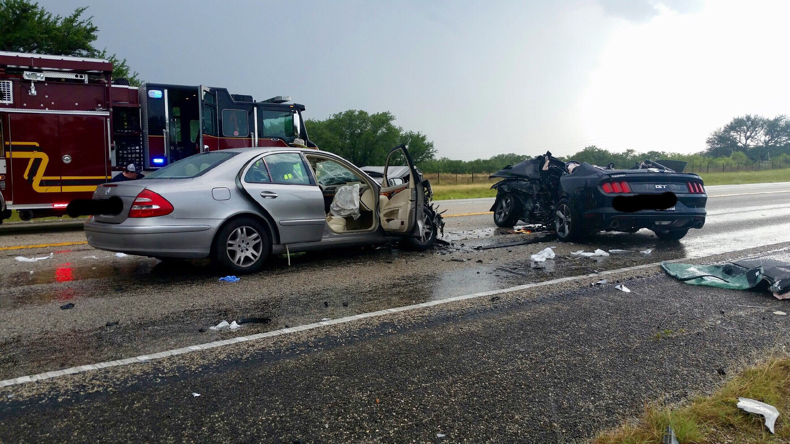 Three who died in SH 71 collision identified