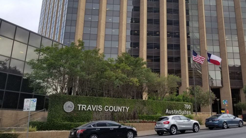 Travis County Administration Building at 700 Lavaca St.