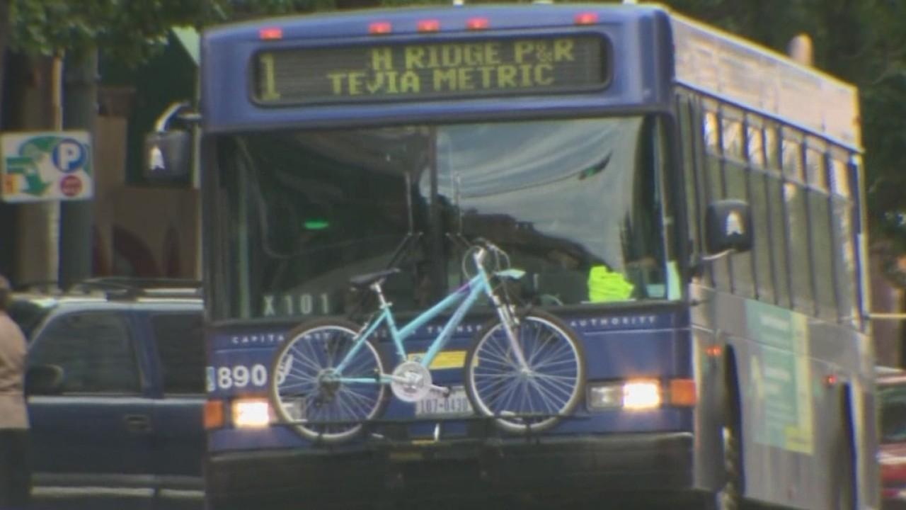 Capital Metro bus CapMetro