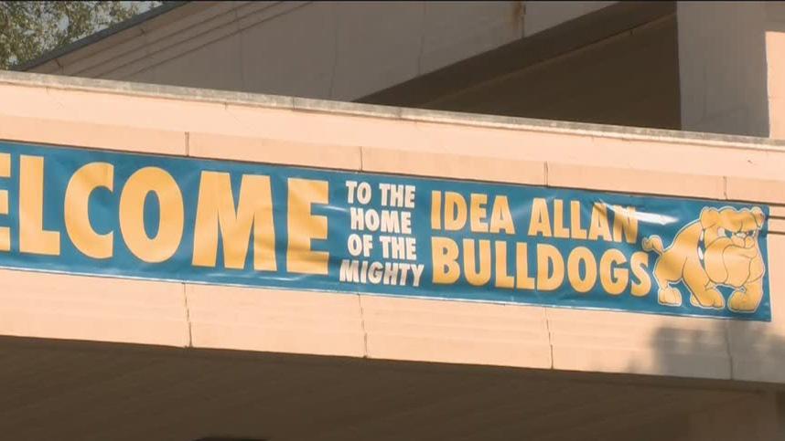 IDEA Allan campus sign