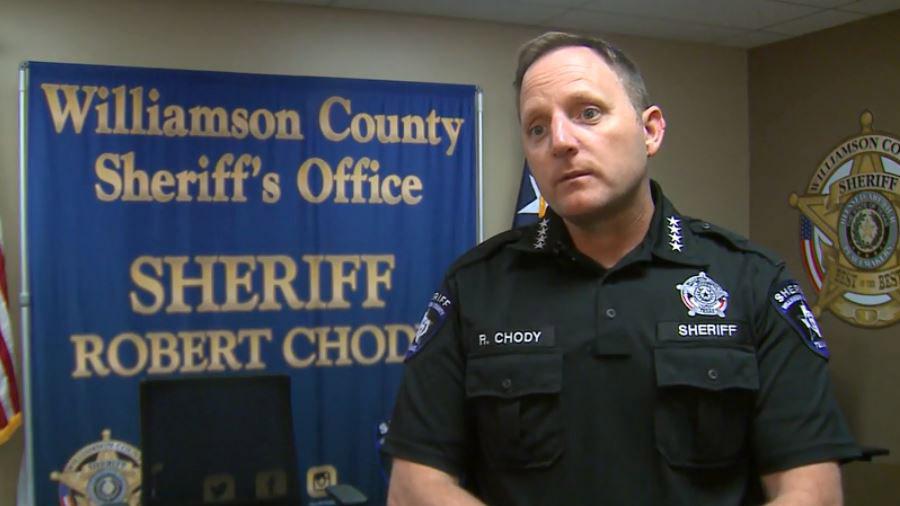 Williamson County Sheriff Robert Chody on July 18, 2018