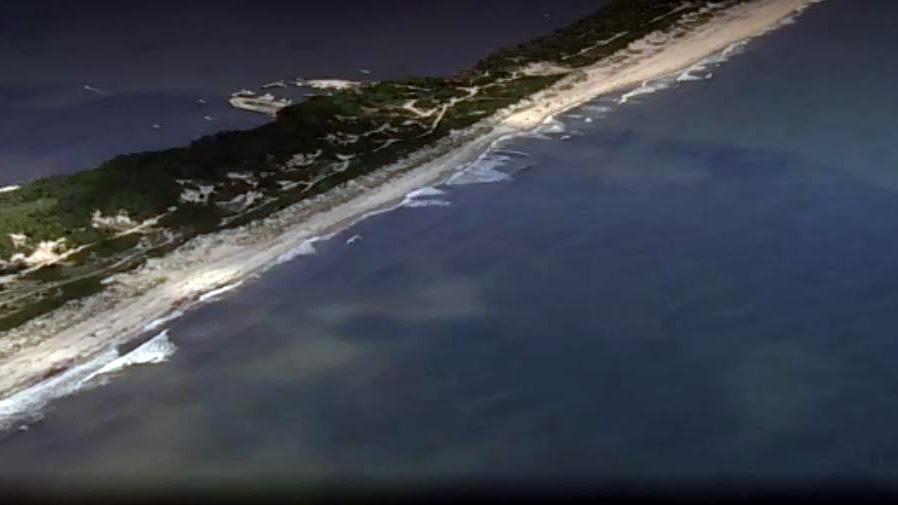 New York Fire Island shark attack