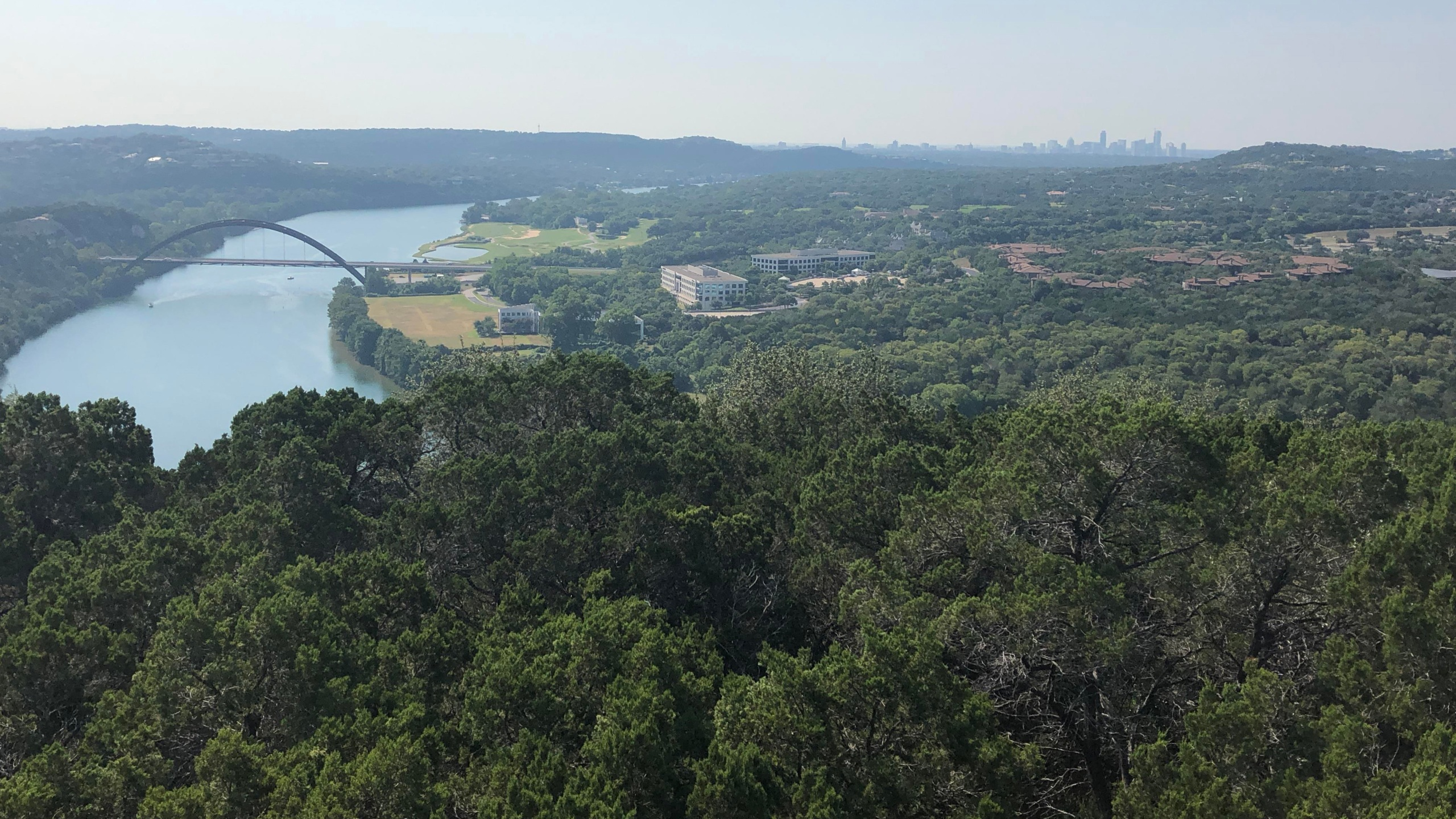 Jonathan Coon envisions luxury condos and a restaurant on the cliffs overlooking Lake Austin, west of the Loop 360 bridge