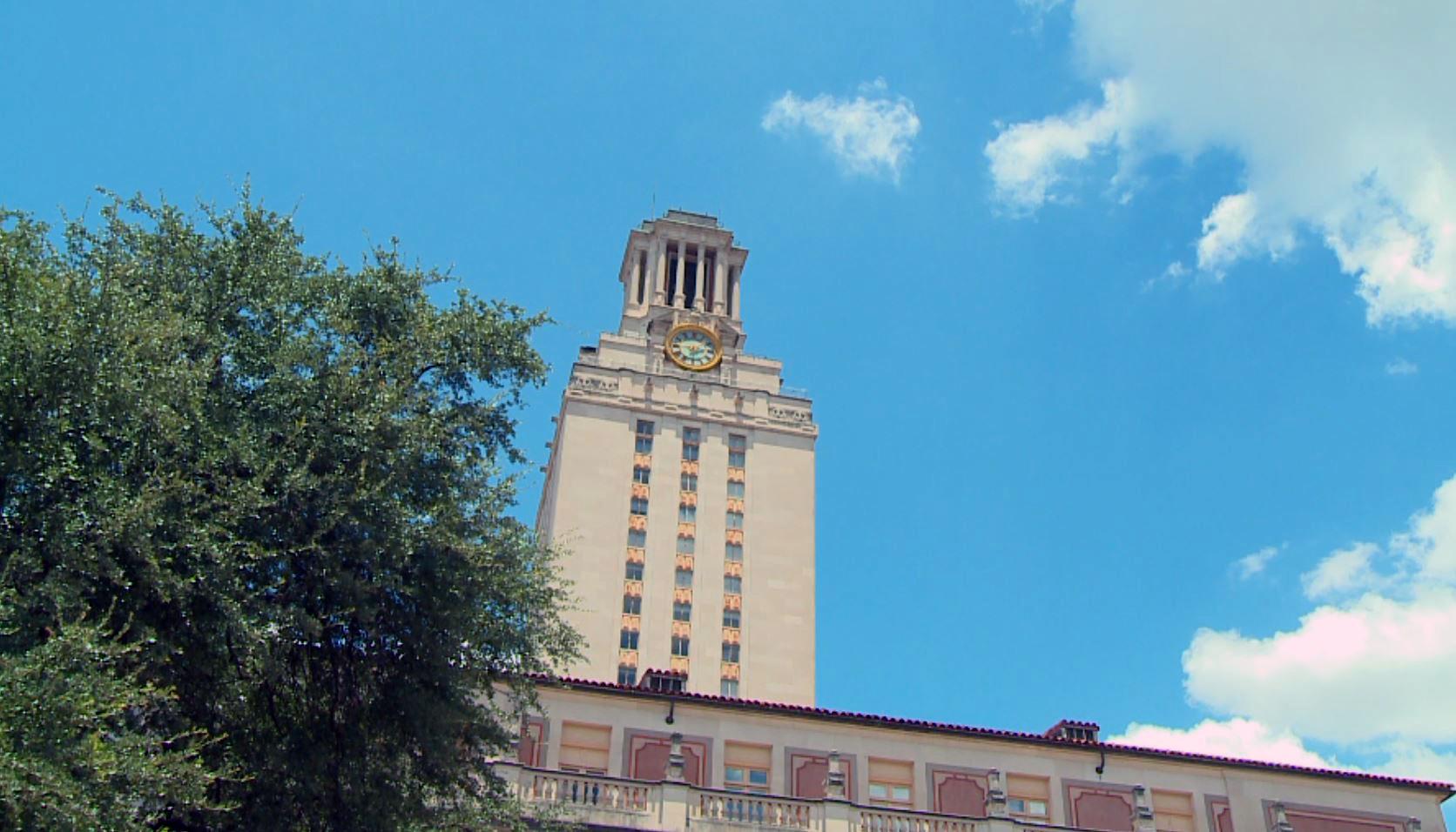 FILE - UT Austin Tower