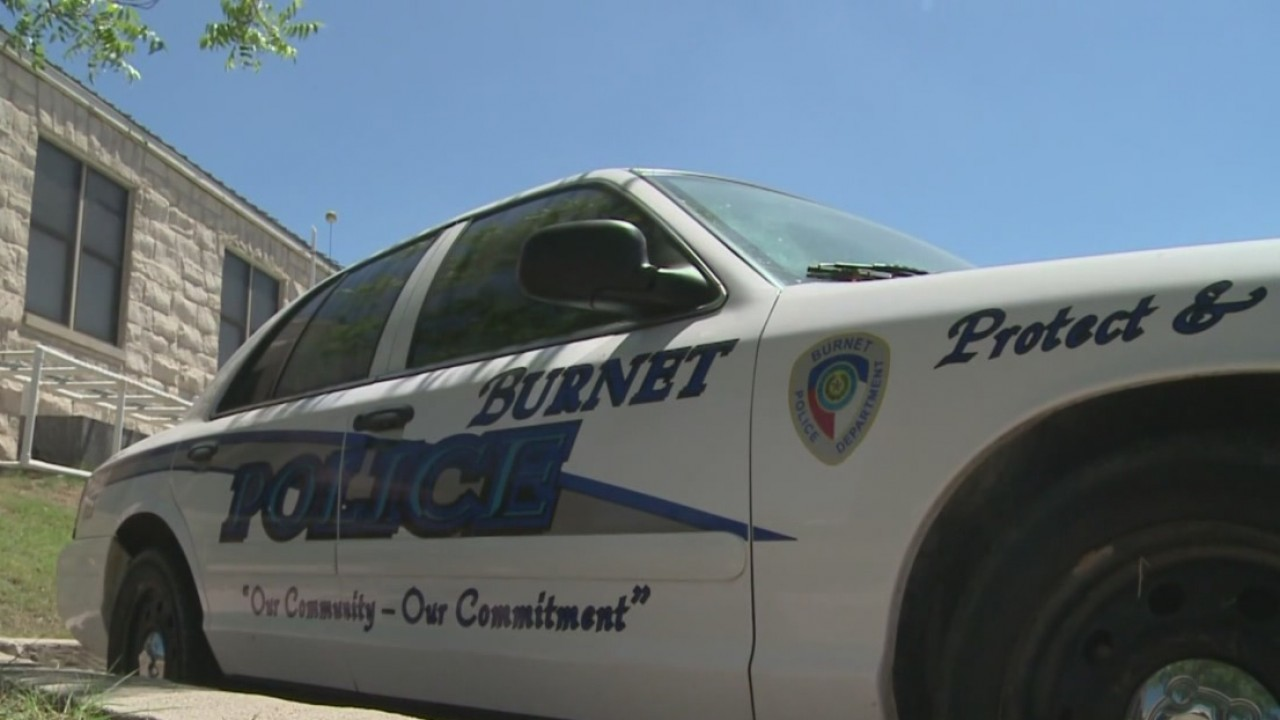 Burnet Police Department patrol car