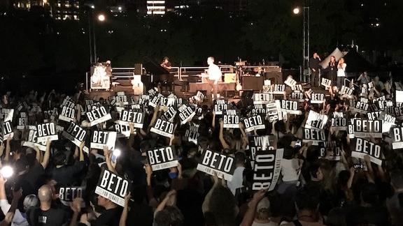 Willie nelson Concert for Beto