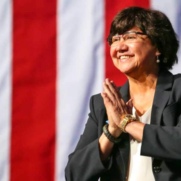 Lupe Valdez at the Texas Democratic Convention