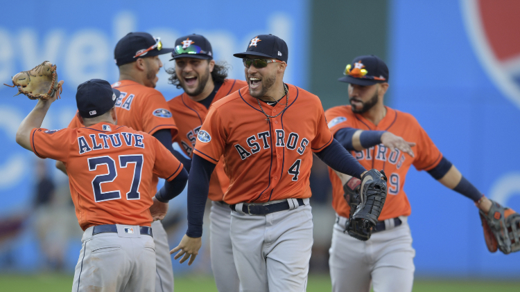 Astros win ALDS vs Cleveland