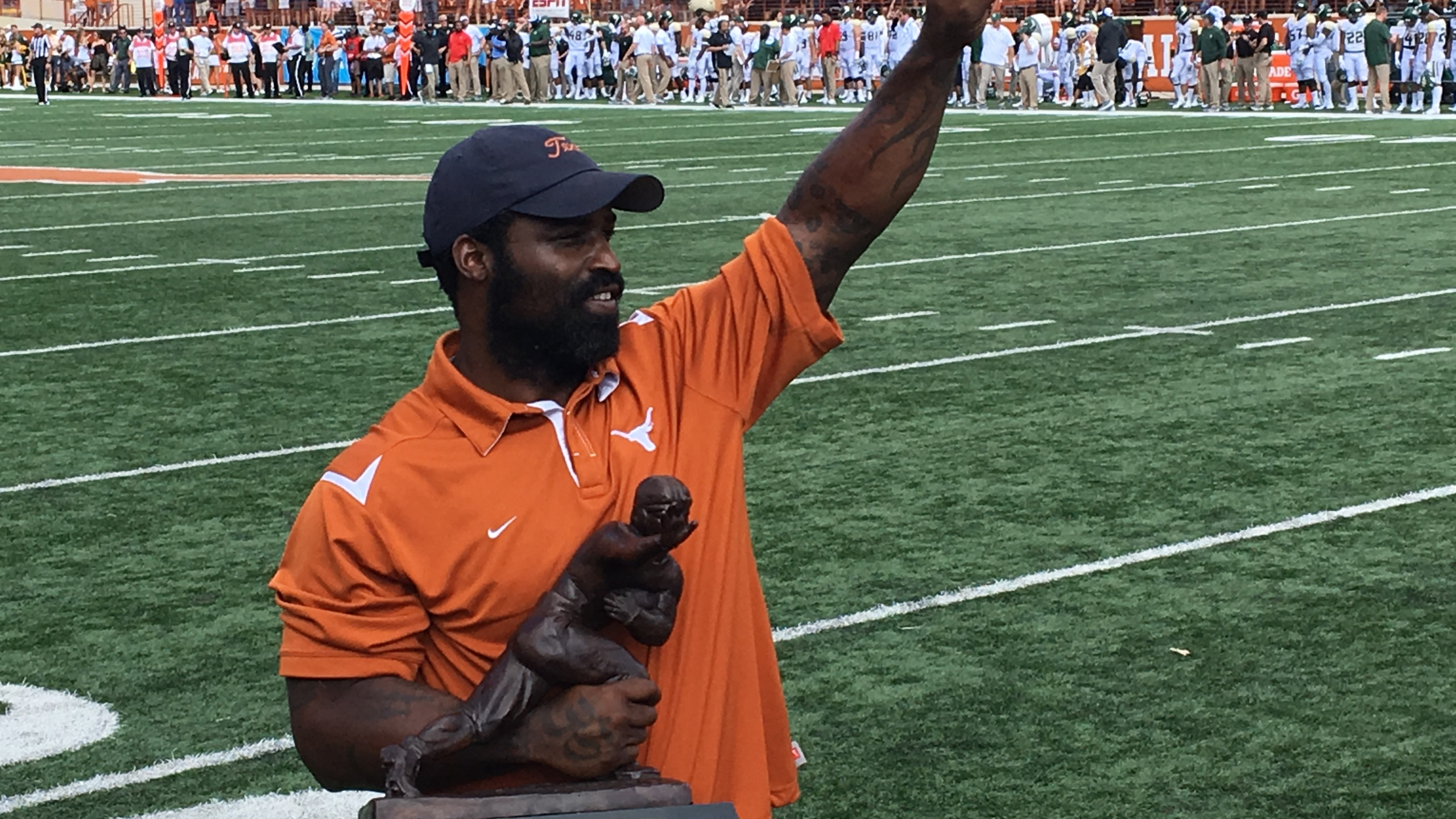Ricky Williams honored