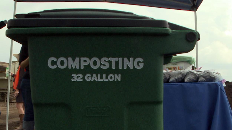 Composting bin