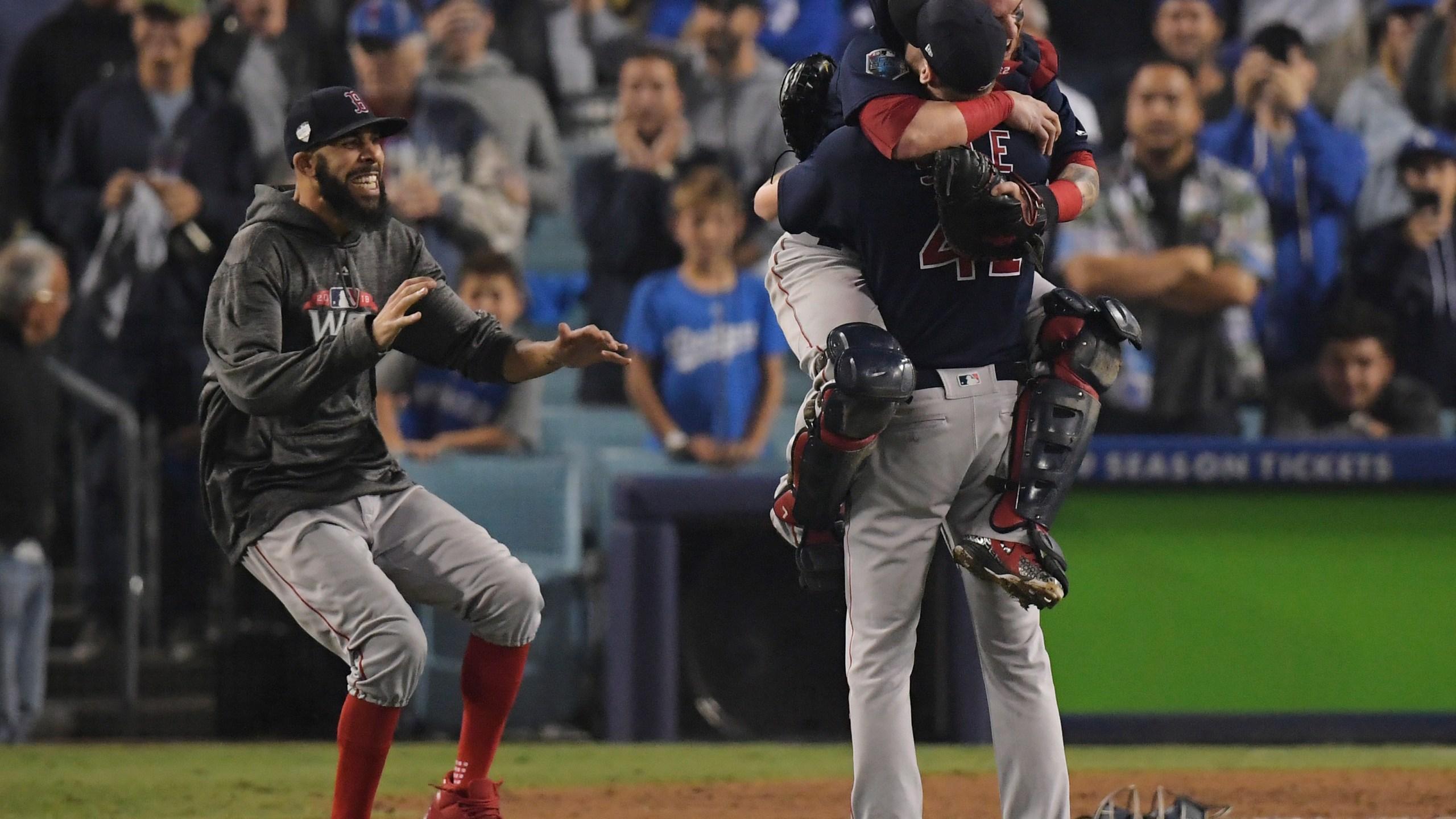 APTOPIX World Series Red Sox Dodgers Baseball_1540784577089
