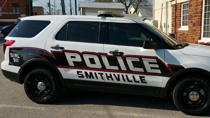 Smithville Police vehicle