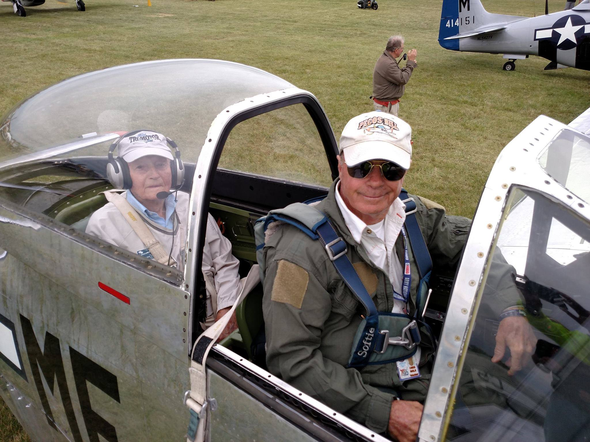 Pilot, passenger who died in WWII plane crash identified