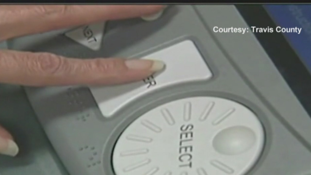 Texas voting machines are old not switching votes
