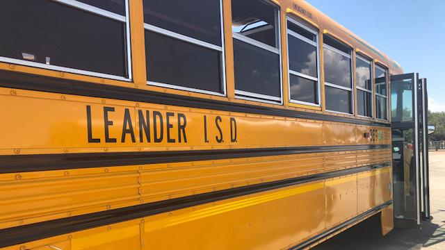 Leander ISD school bus