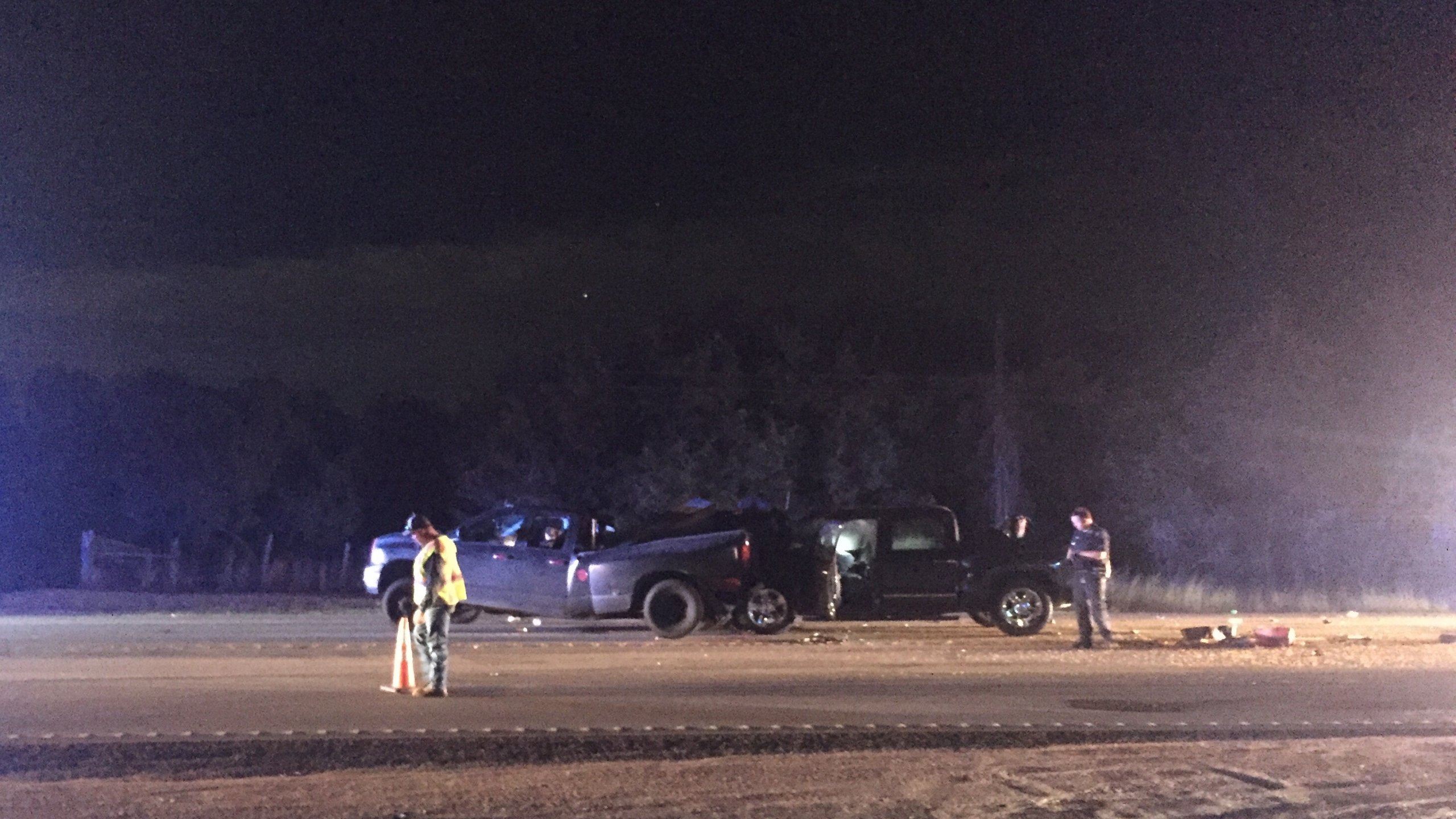 US 281 back open near Johnson City after crash
