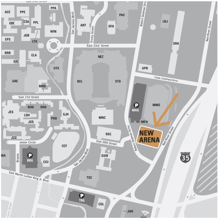 New location for UT Basketball Arena
