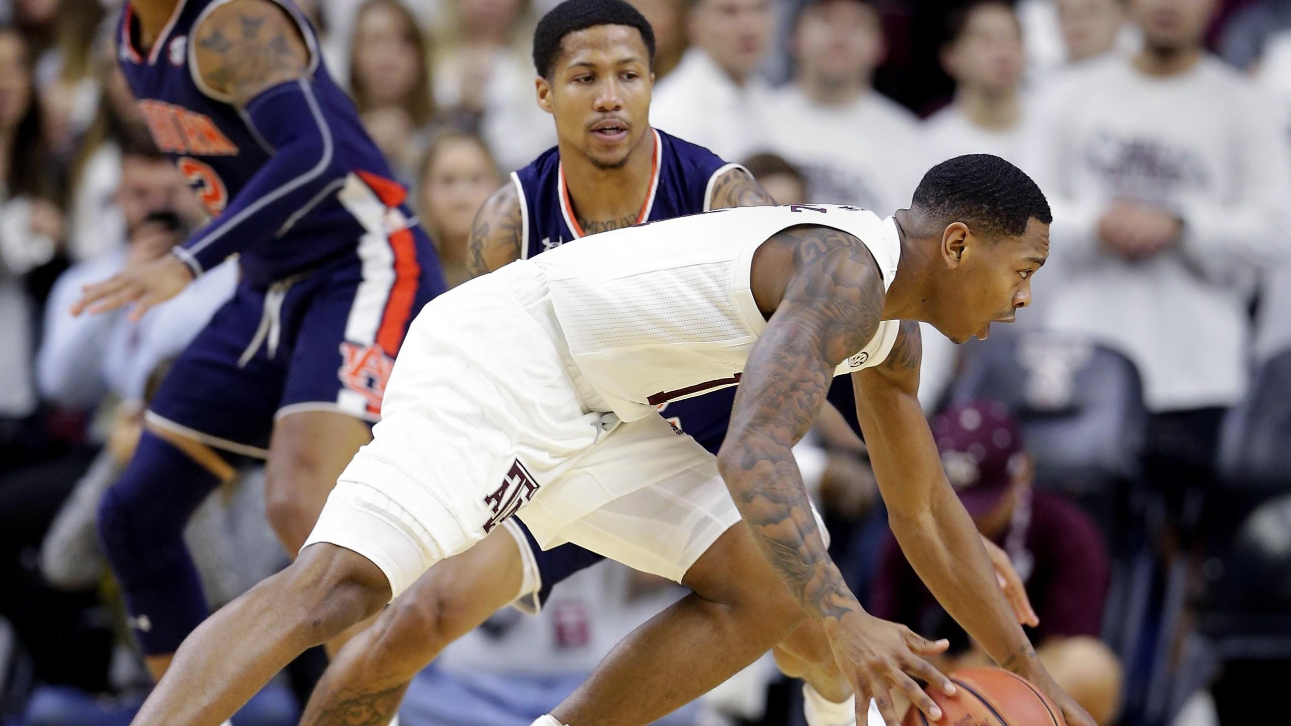 Texas A&M Aggies basketball Auburn