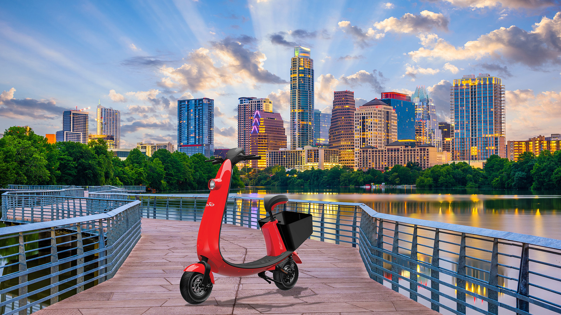 New sit-down, 20 mph electric scooters coming to Austin