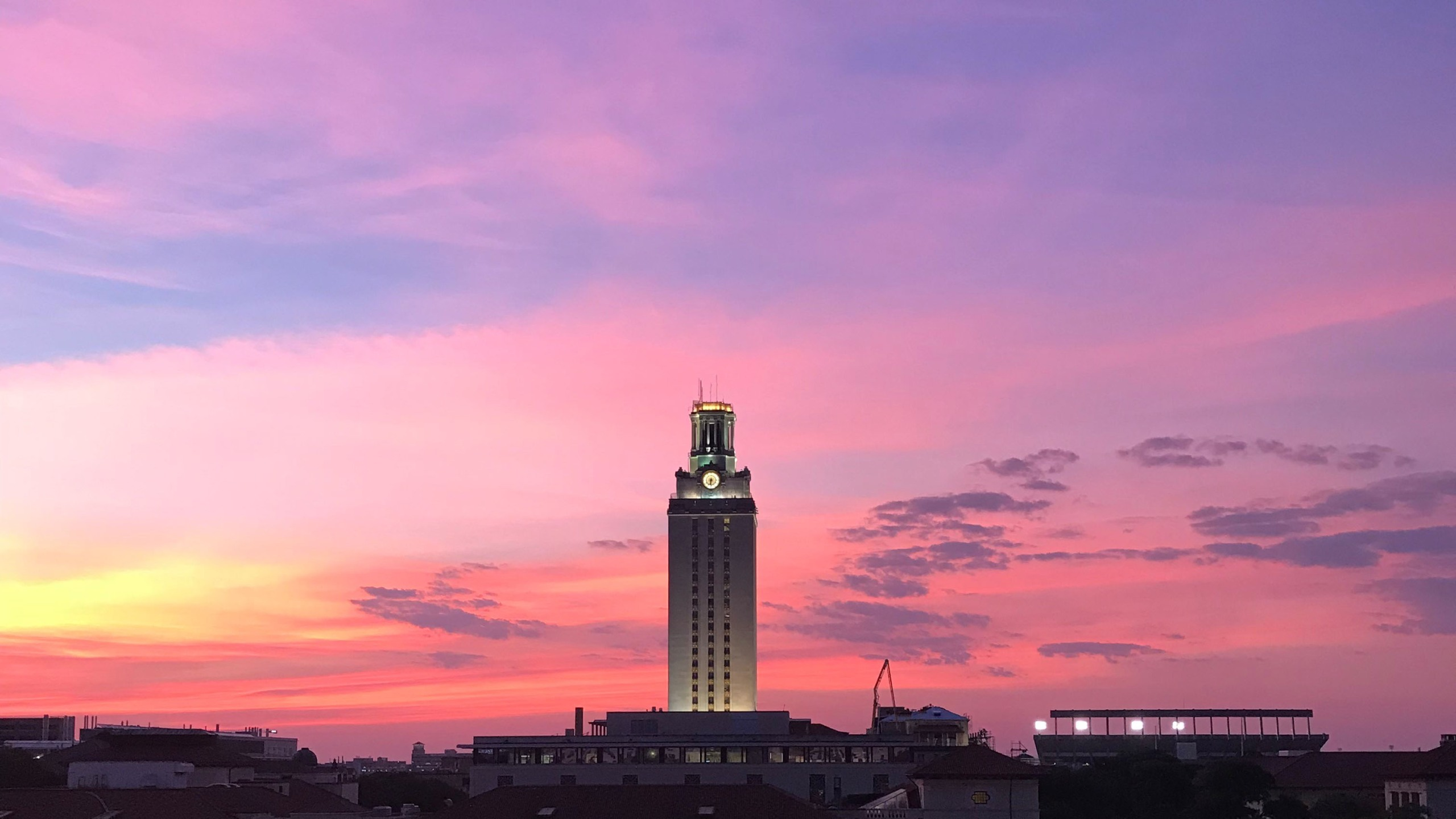 sunrise5_ UT Tower -