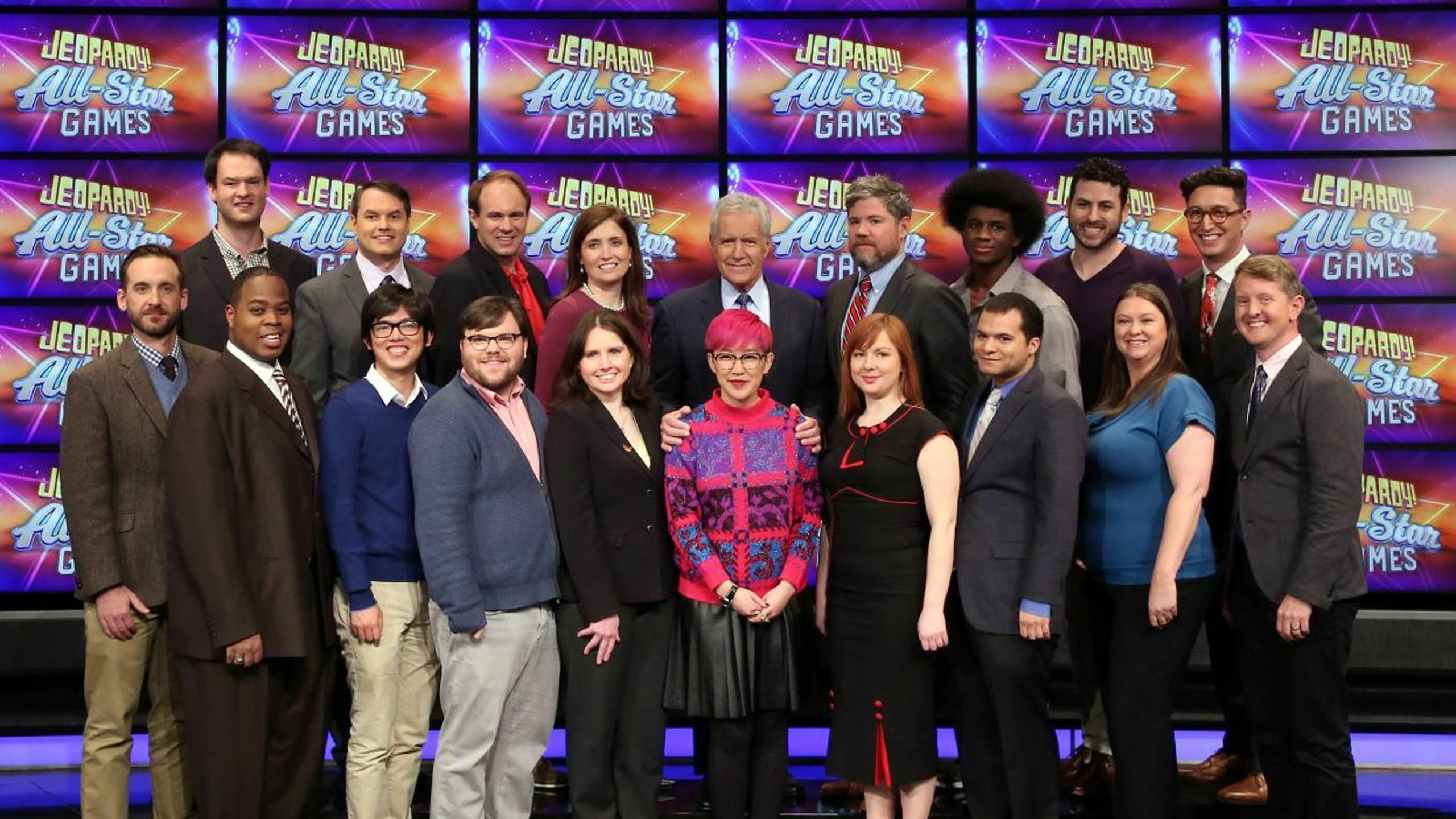 Jeopardy team All Stars