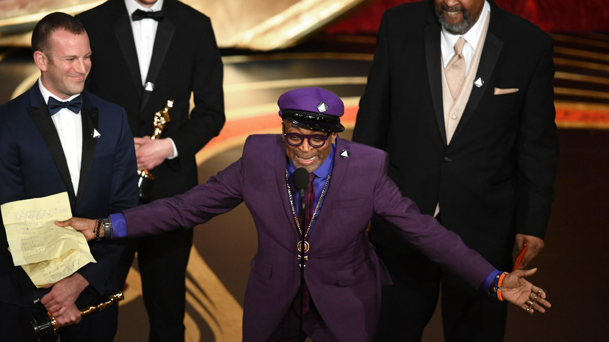 Spike Lee 91st Oscars