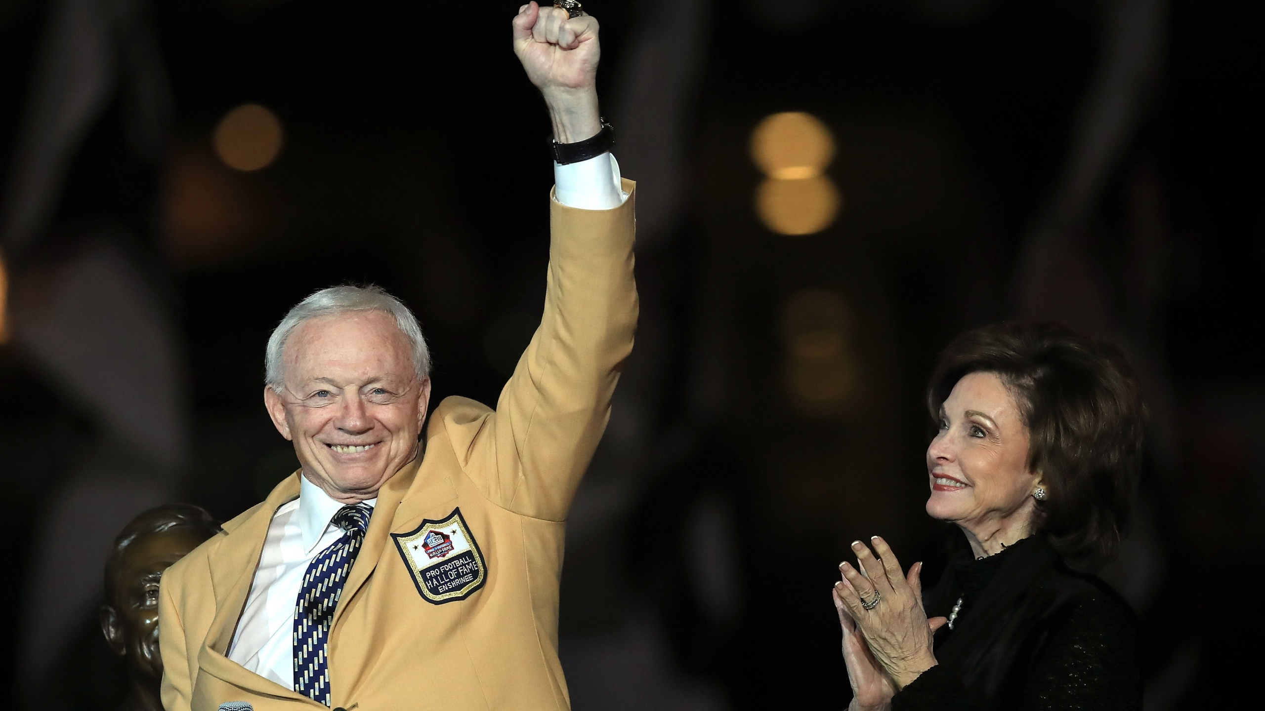Jerry Jones Hall of Fame 2019