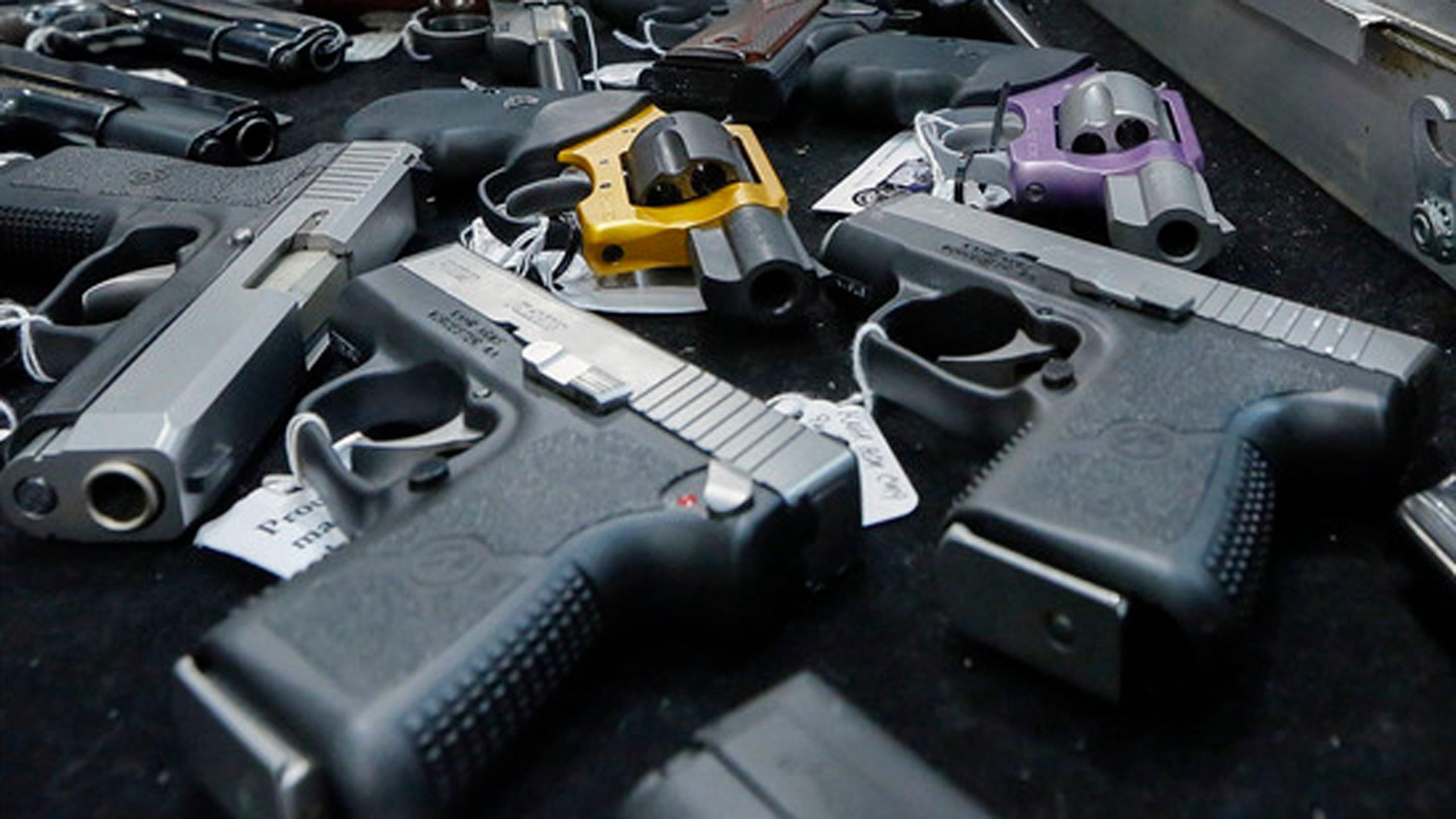 Guns file photo