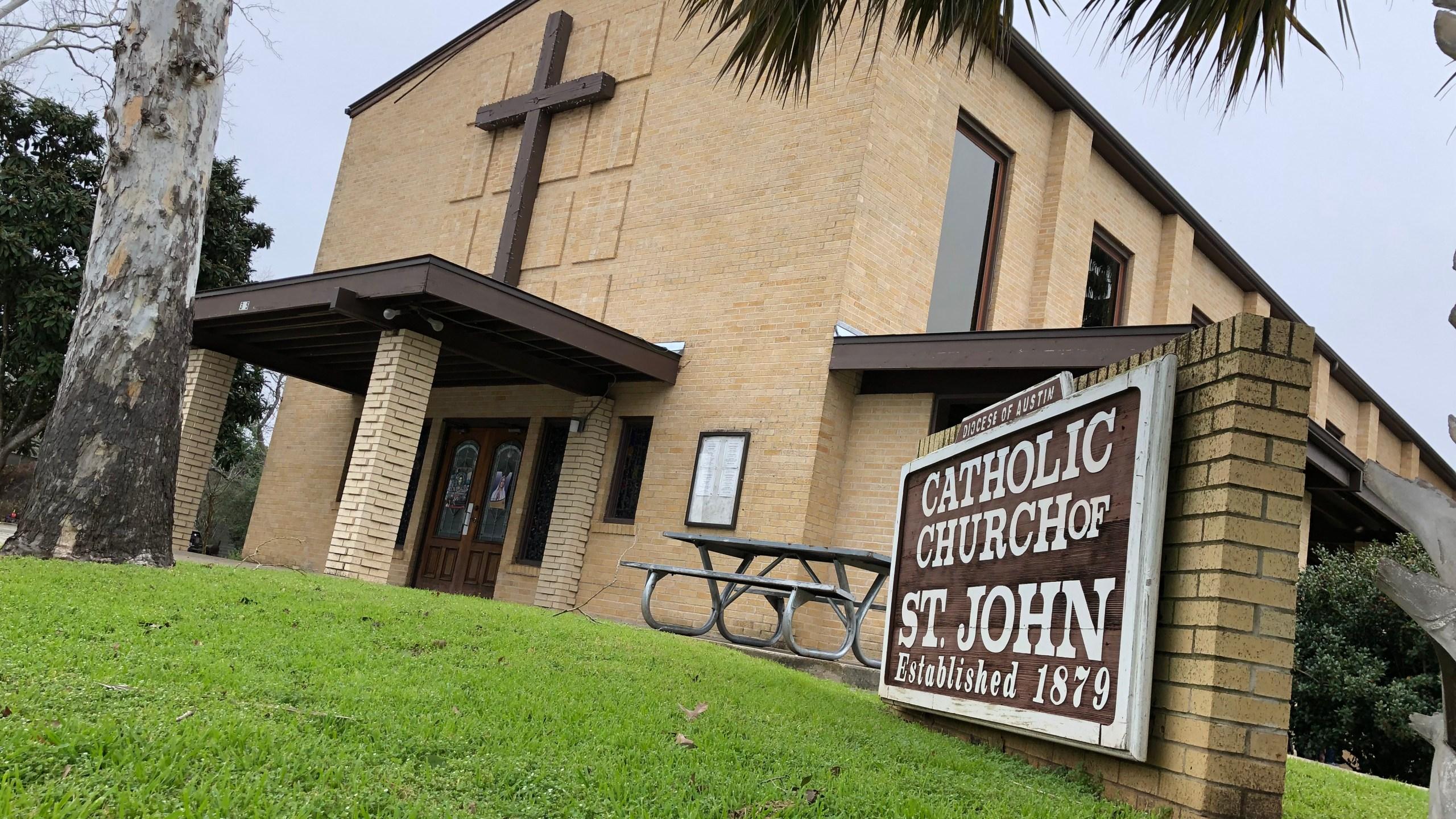ST. JOHN CATHOLIC CHURCH IN LULING