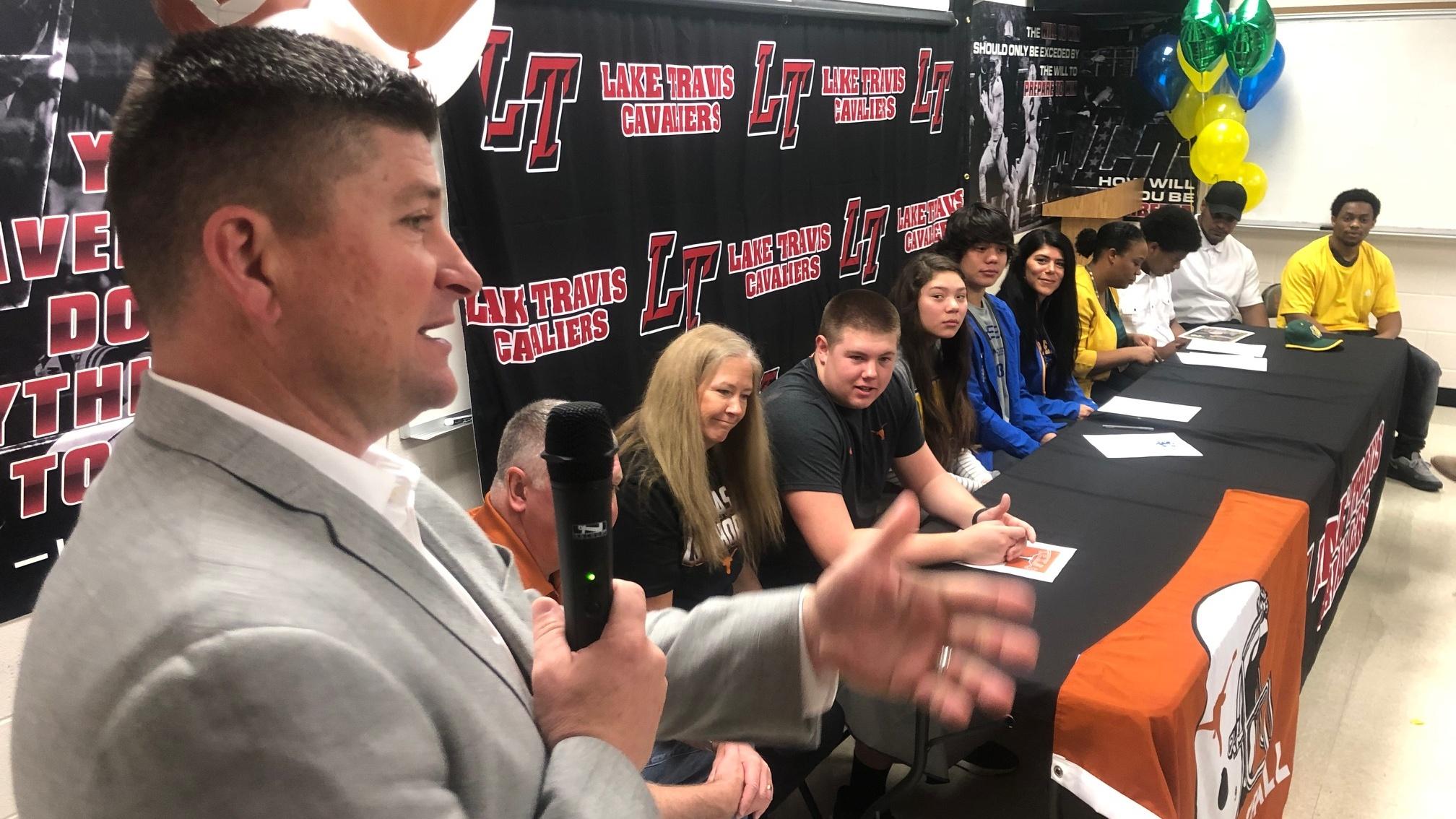 Lake Travis Signing Day 2019