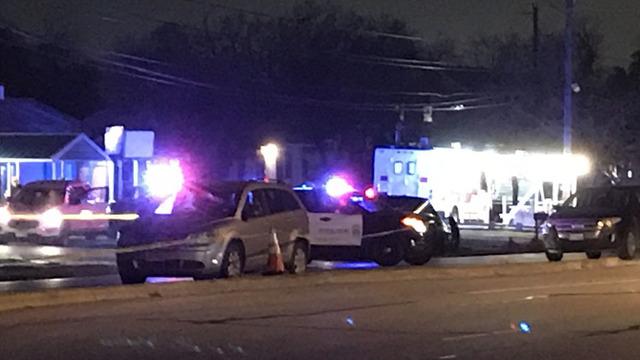 Riverside Drive crash