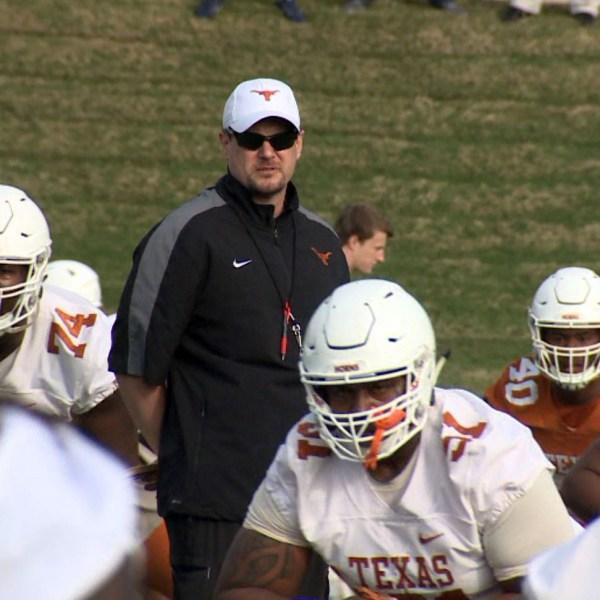 Coach Tom Herman and UT Longhorns football_454186