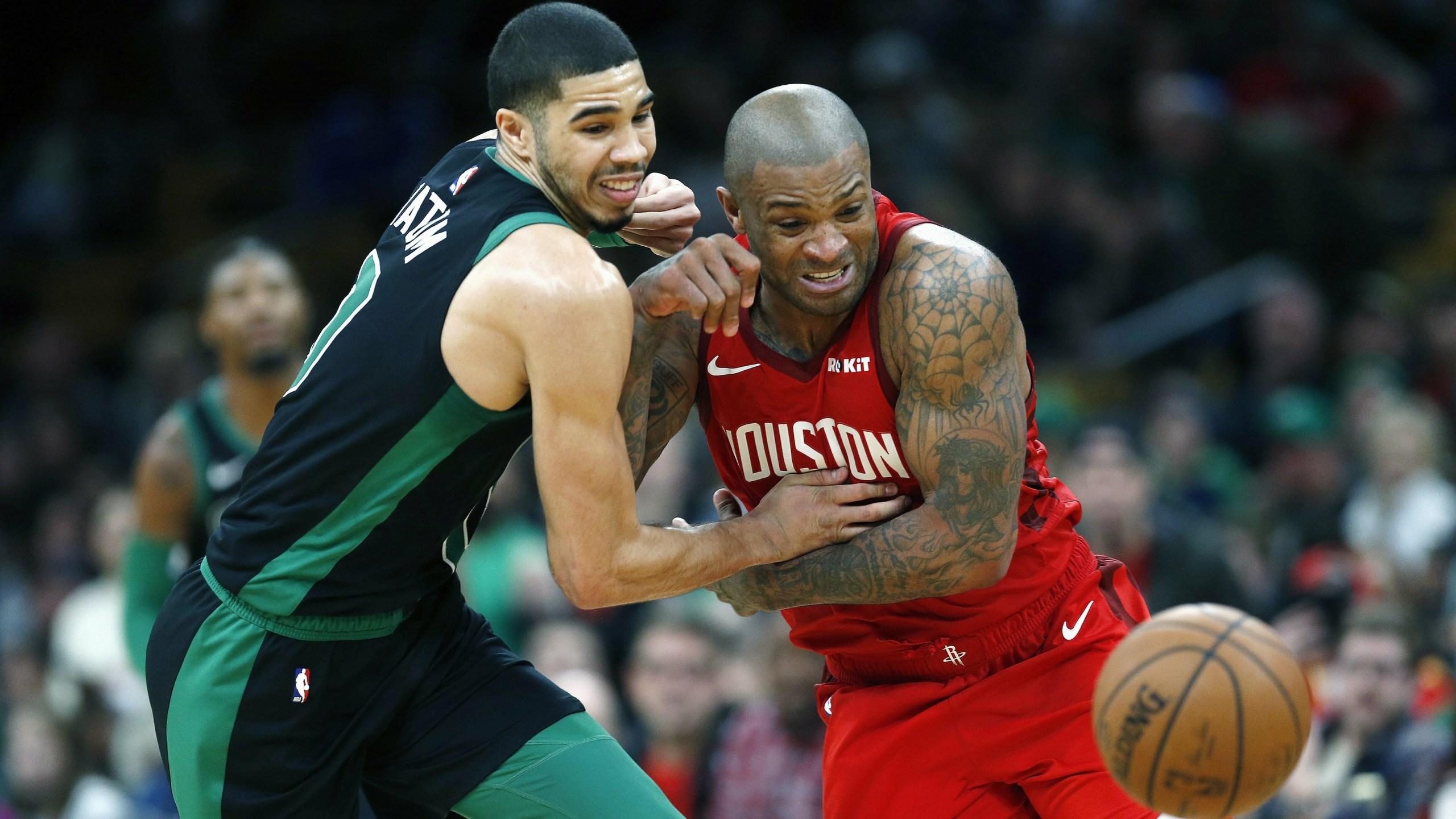 Rockets PJ Tucker vs Celtics