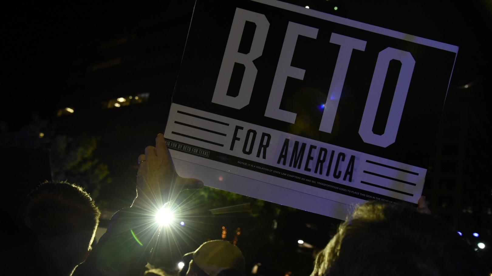 Beto rally in Austin 2