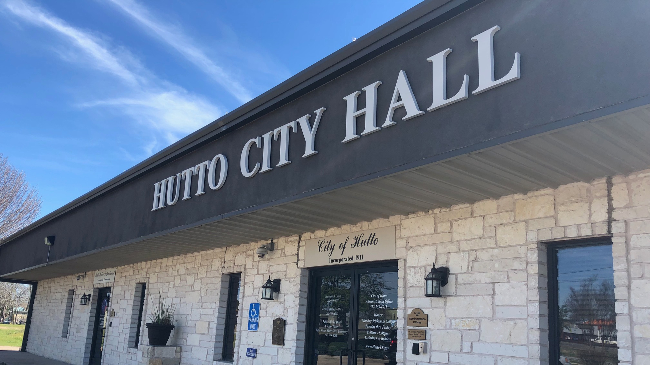 hutto city hall