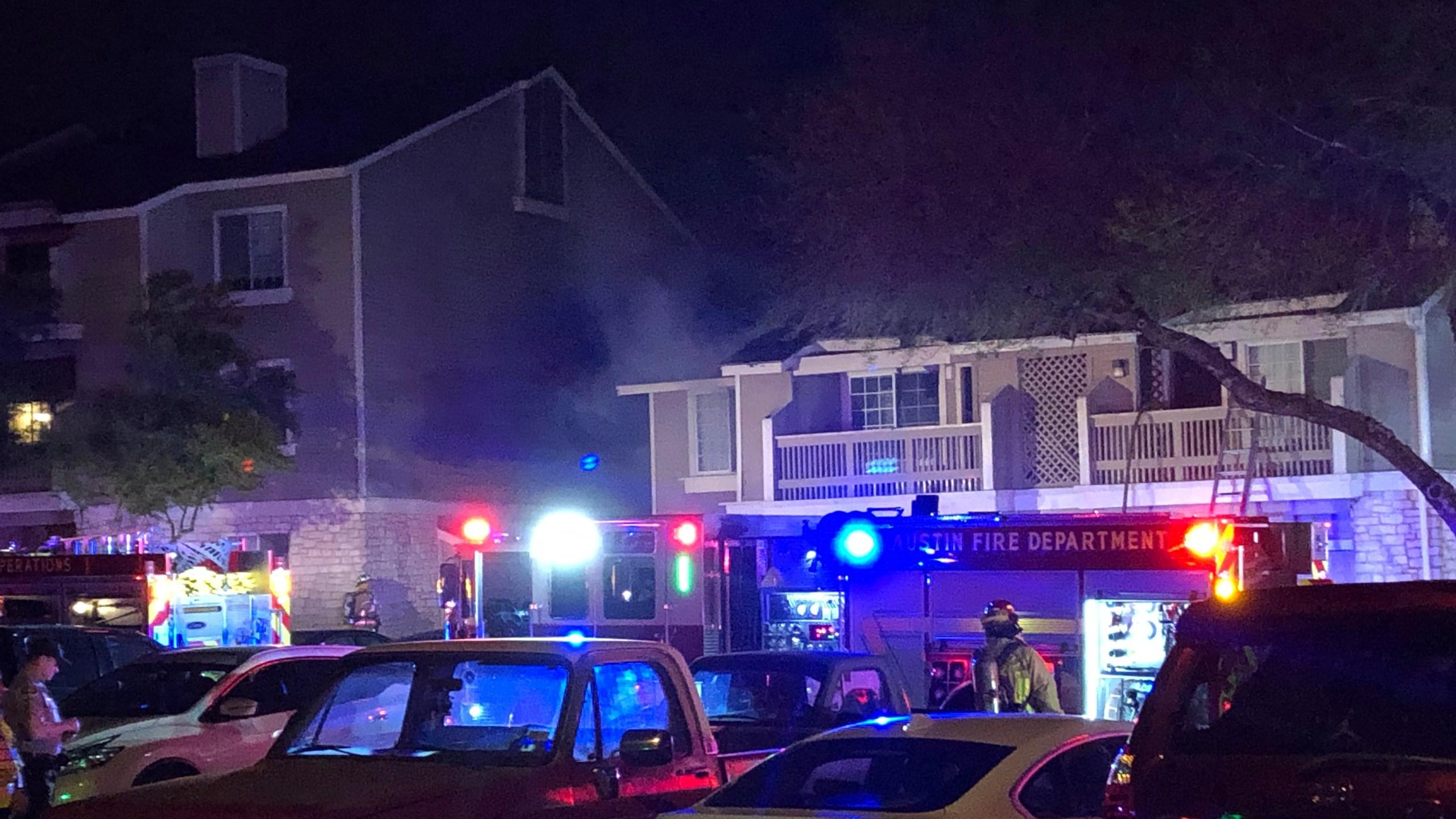 Pflugerville Apartment fire