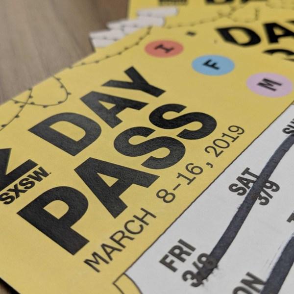 SXSW day pass