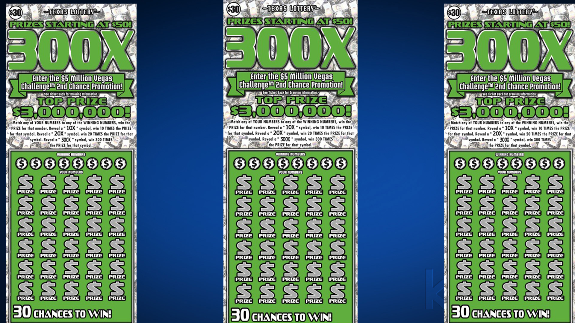 Round Rock resident wins $3M with Texas Lottery scratch ticket