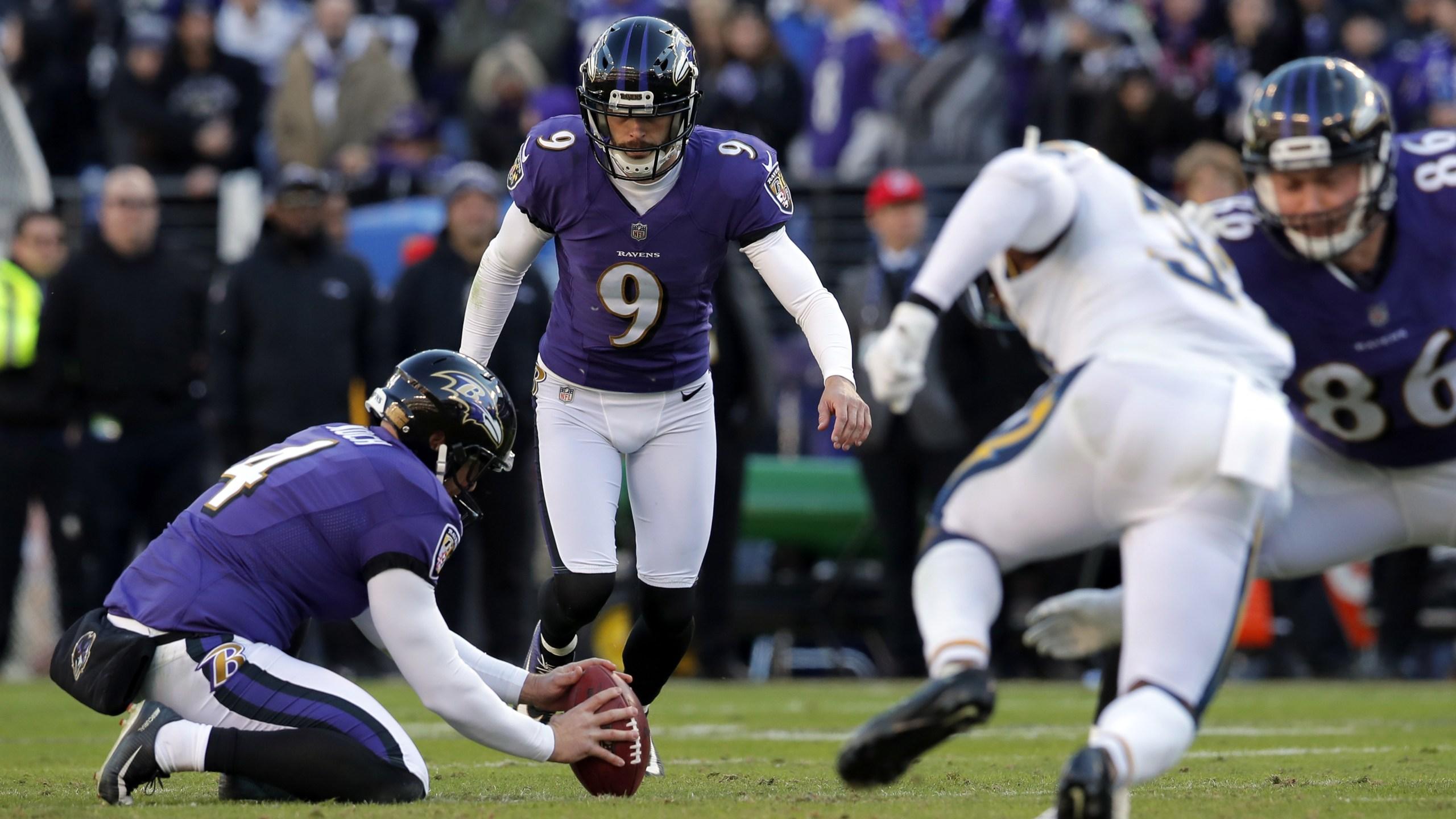 Justin Tucker Ravens kicker