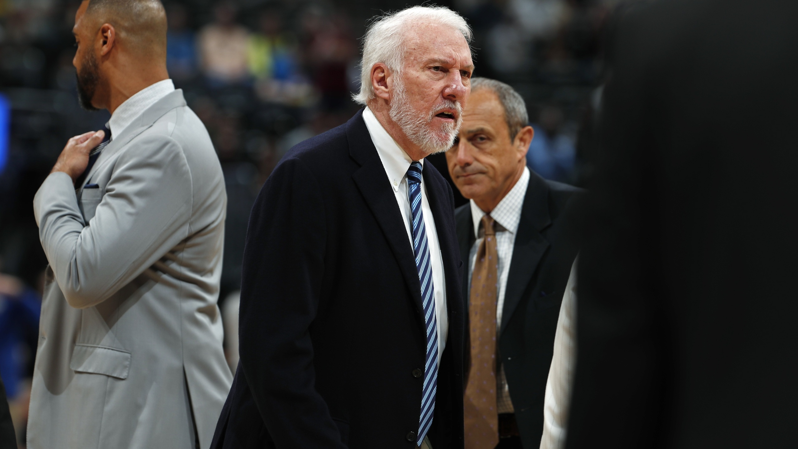 Popovich ejected 63 seconds into game