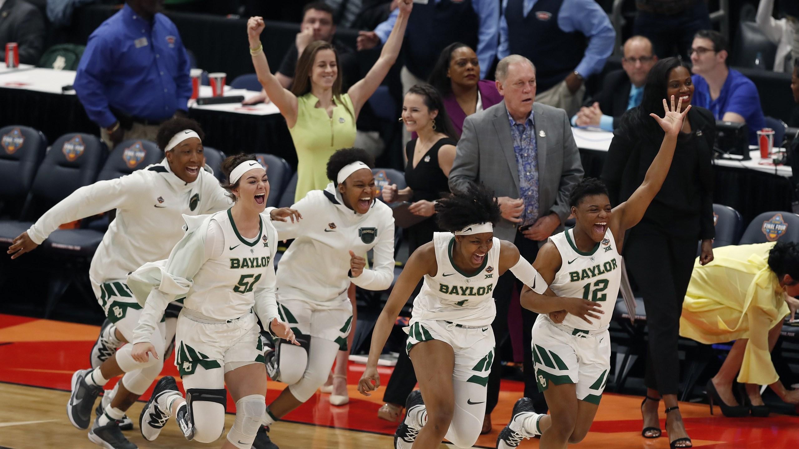 Baylor women's Final Four Oregon