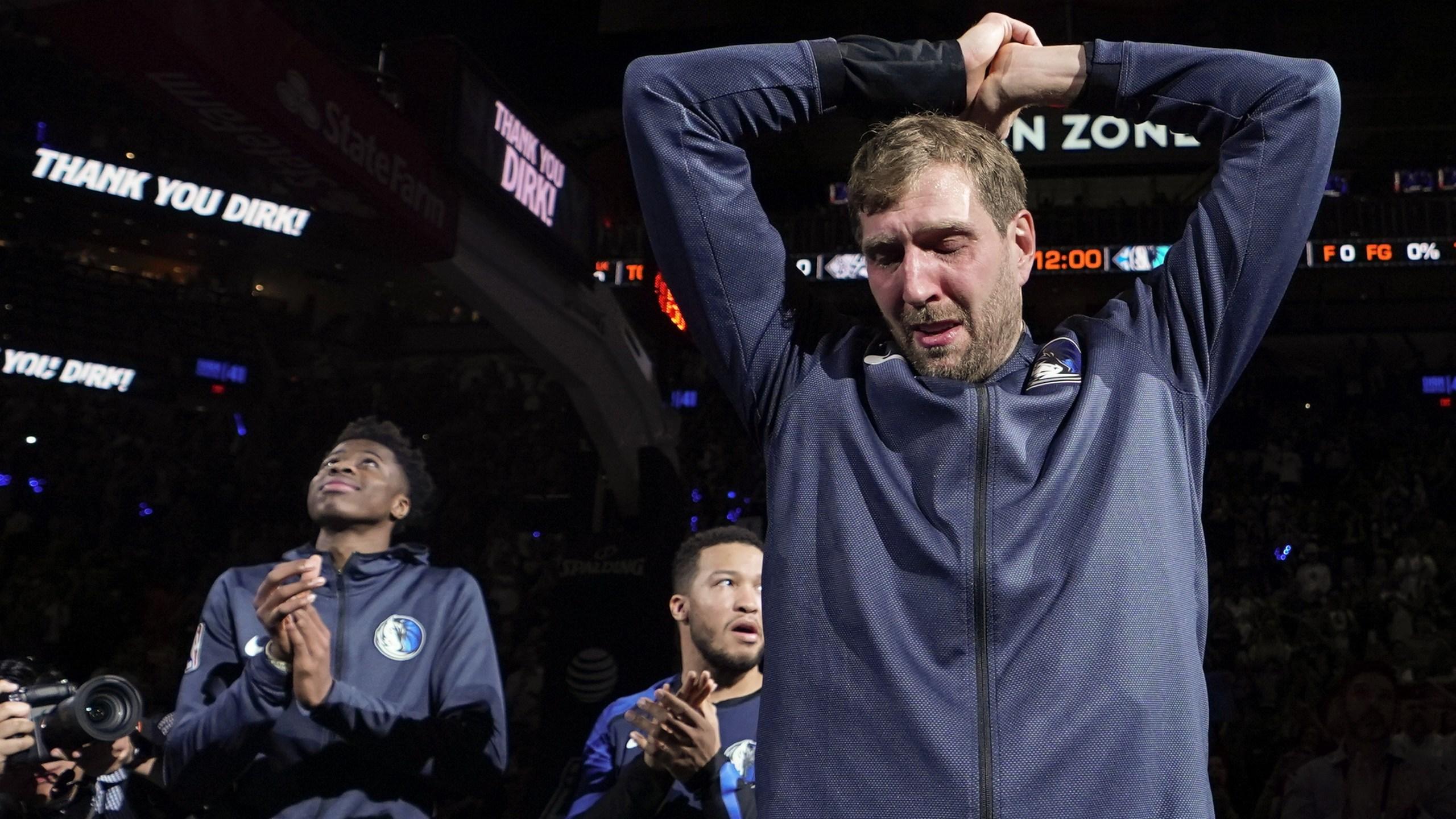 Dirk's final game 2019