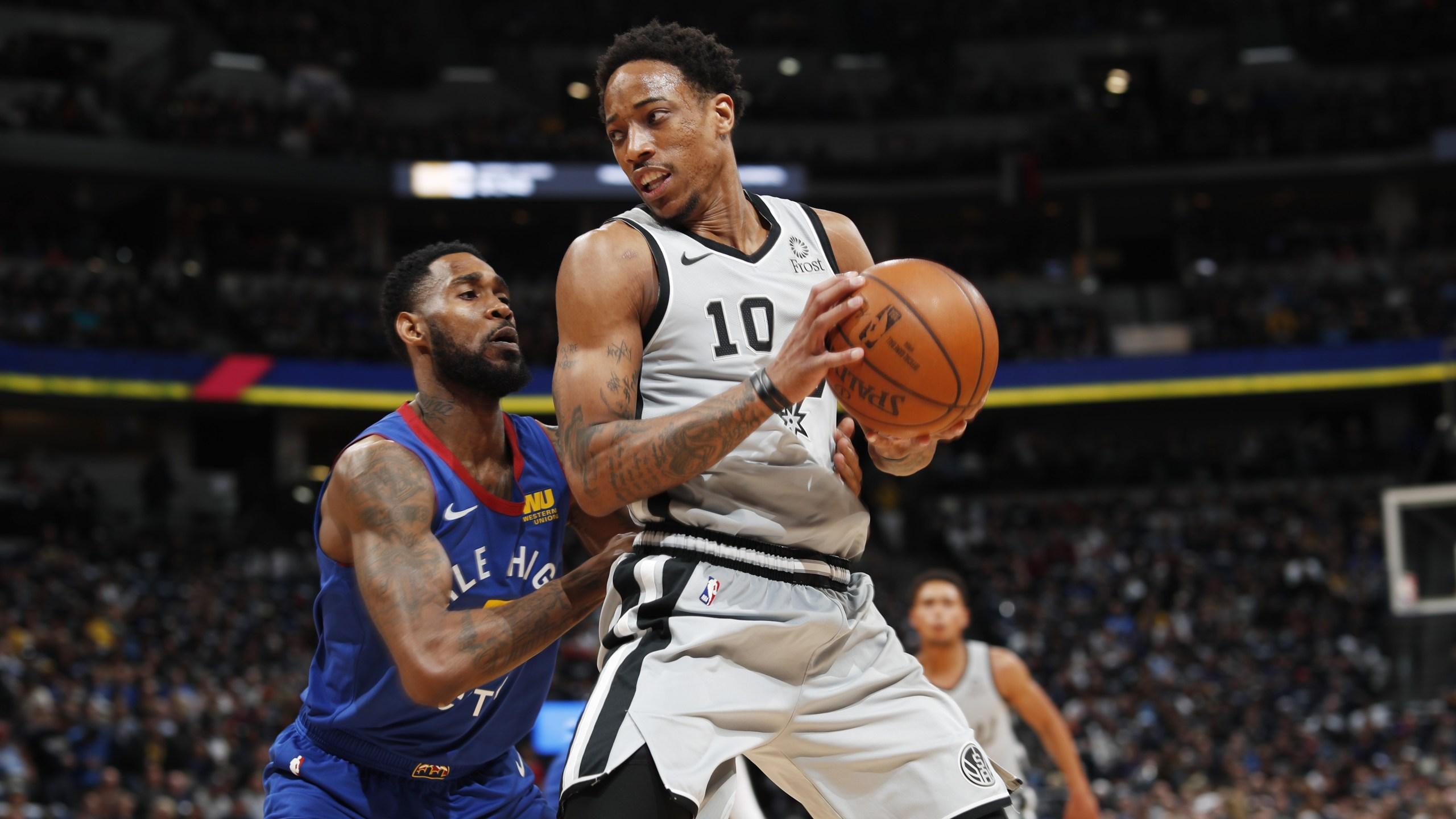 Demar Deroazan Spurs playoffs 2019