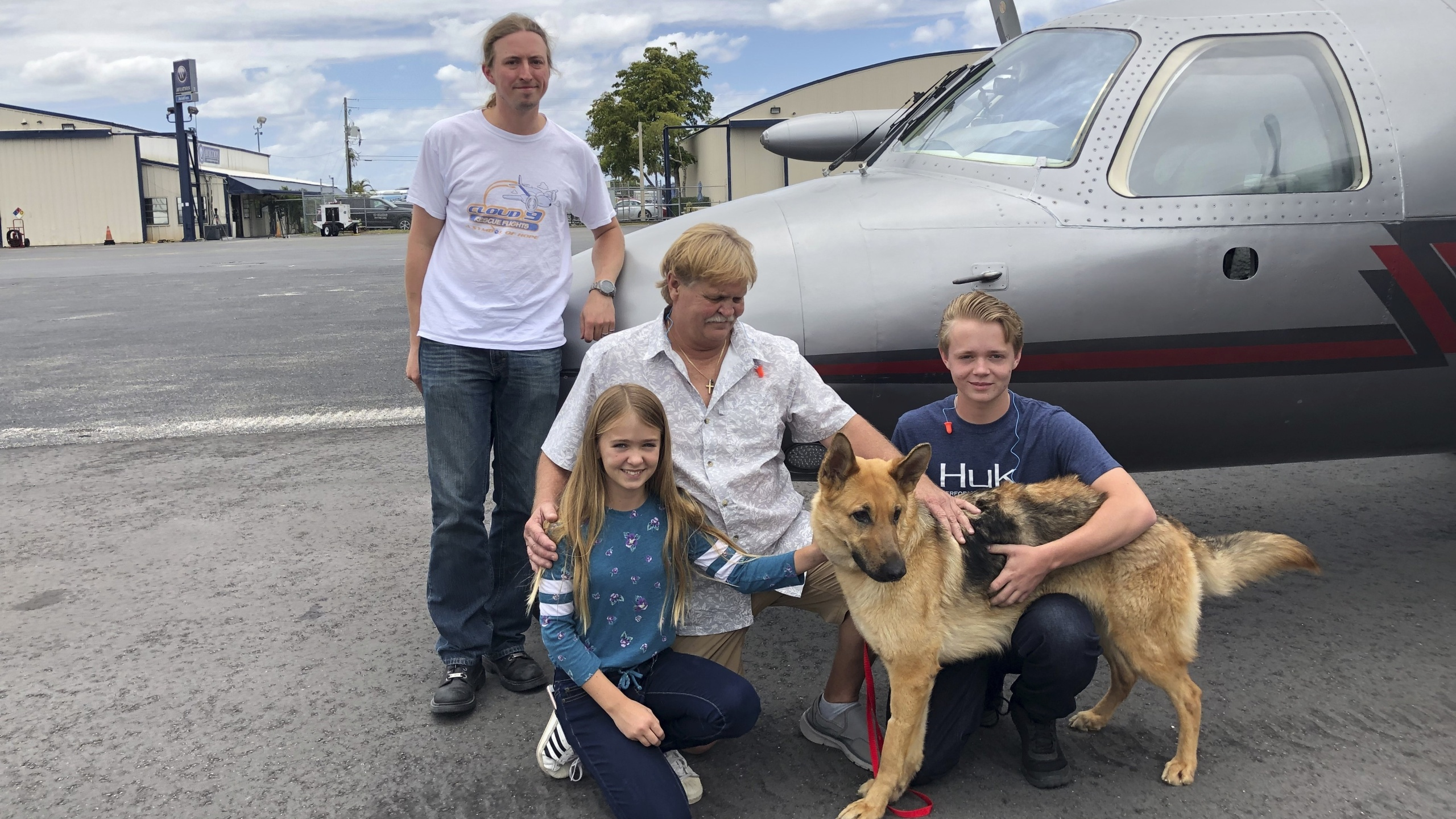 Dog returns to Florida owners