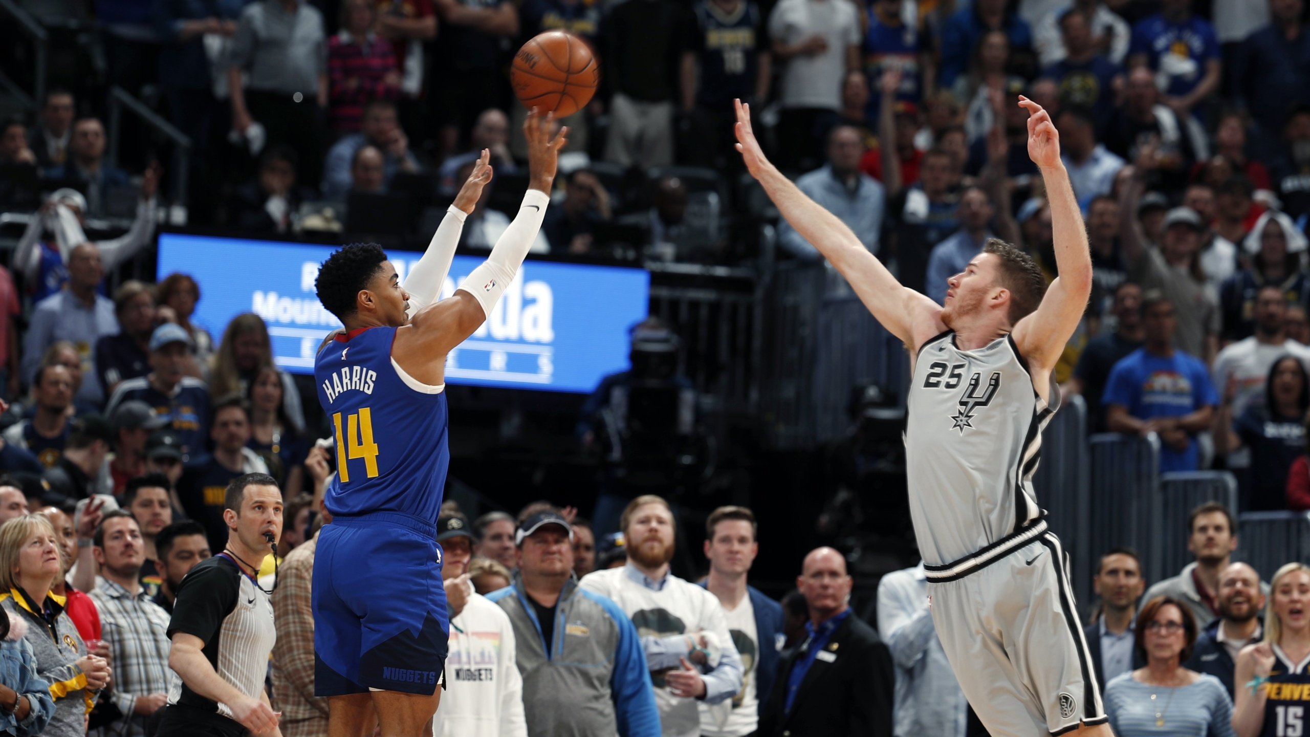 Spurs Nuggets game 5 2019