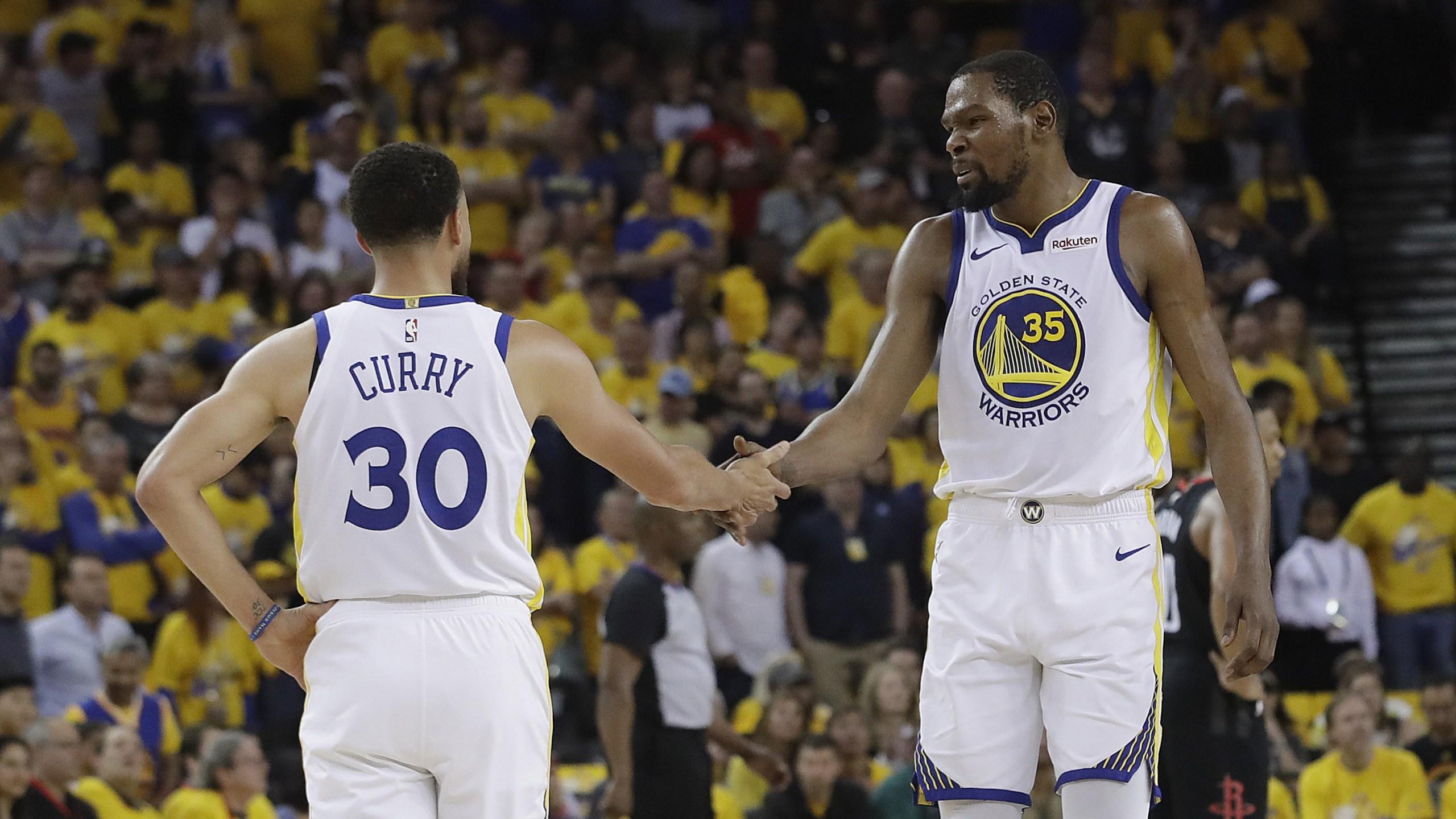 Kevin Durant Warriors-Rockets 2019